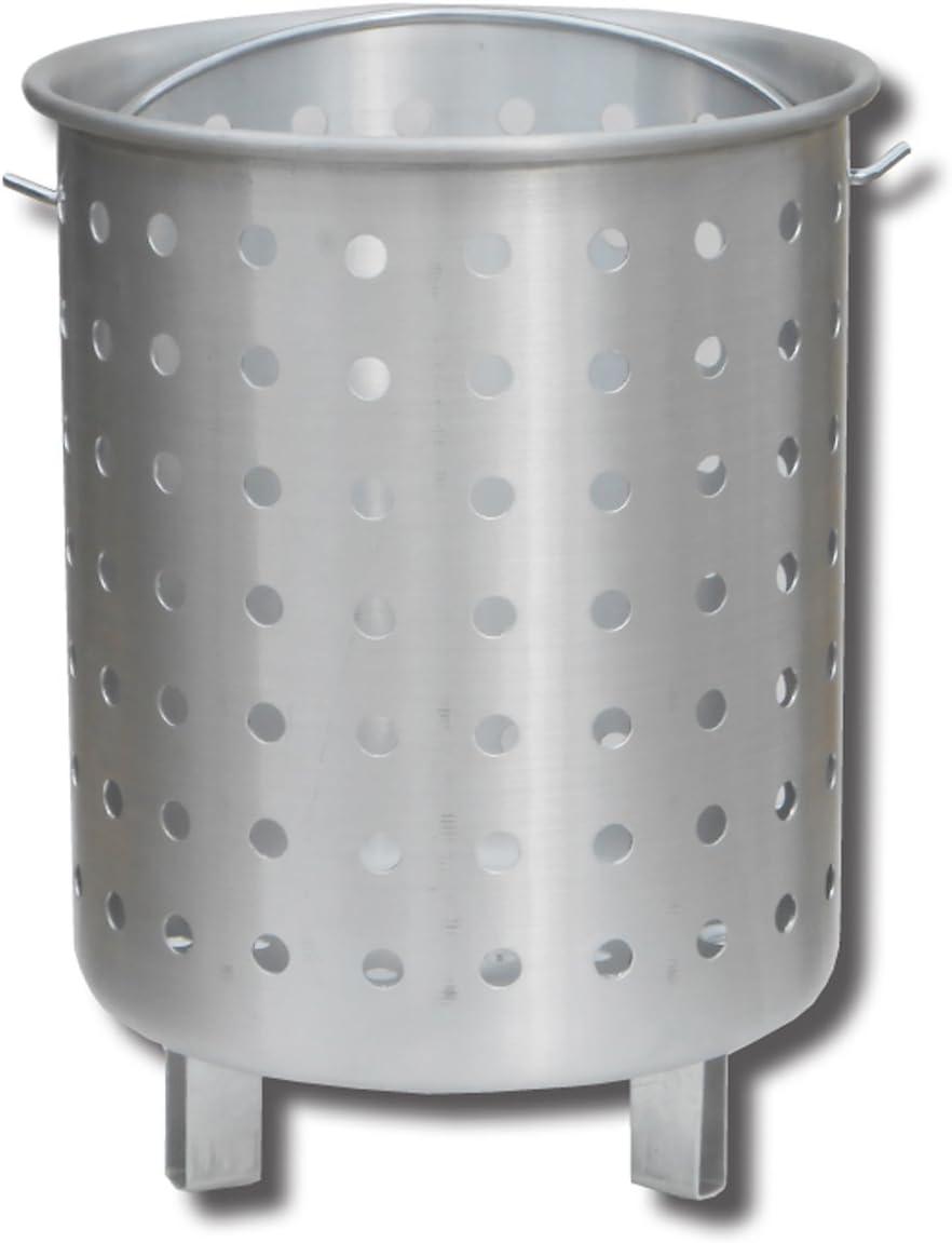King Kooker 30FB Punched Aluminum Footed Basket, OS, Multi