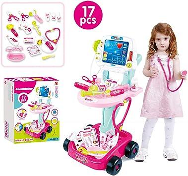 Amazon.com: Auvem - Juego de juguete médico para niños, kit ...
