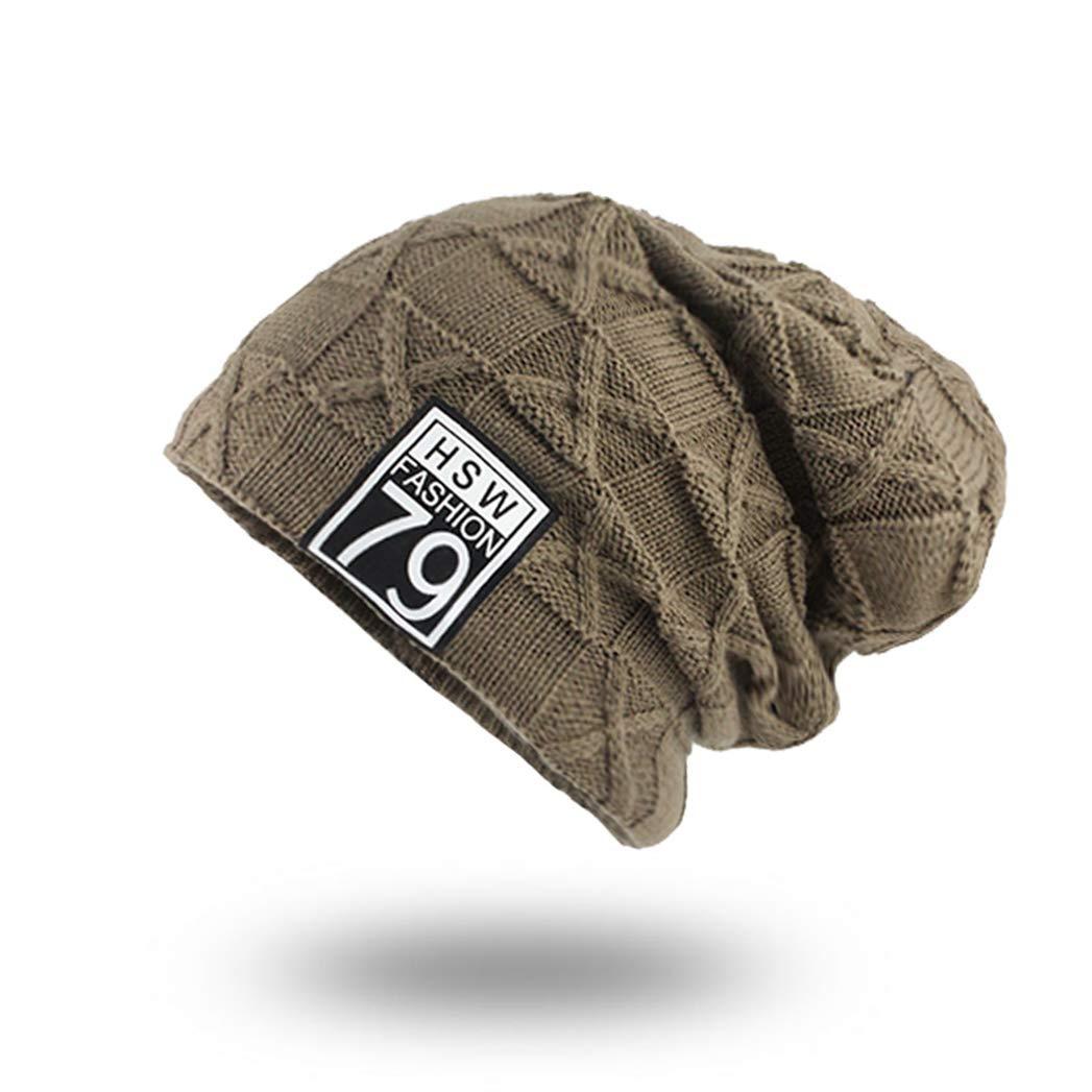 SANOMY Men Beanies Knit Hat,Winter Scarf Caps Mask Bonnet Warm Baggy Hats for Women Skullies Beanies Hat