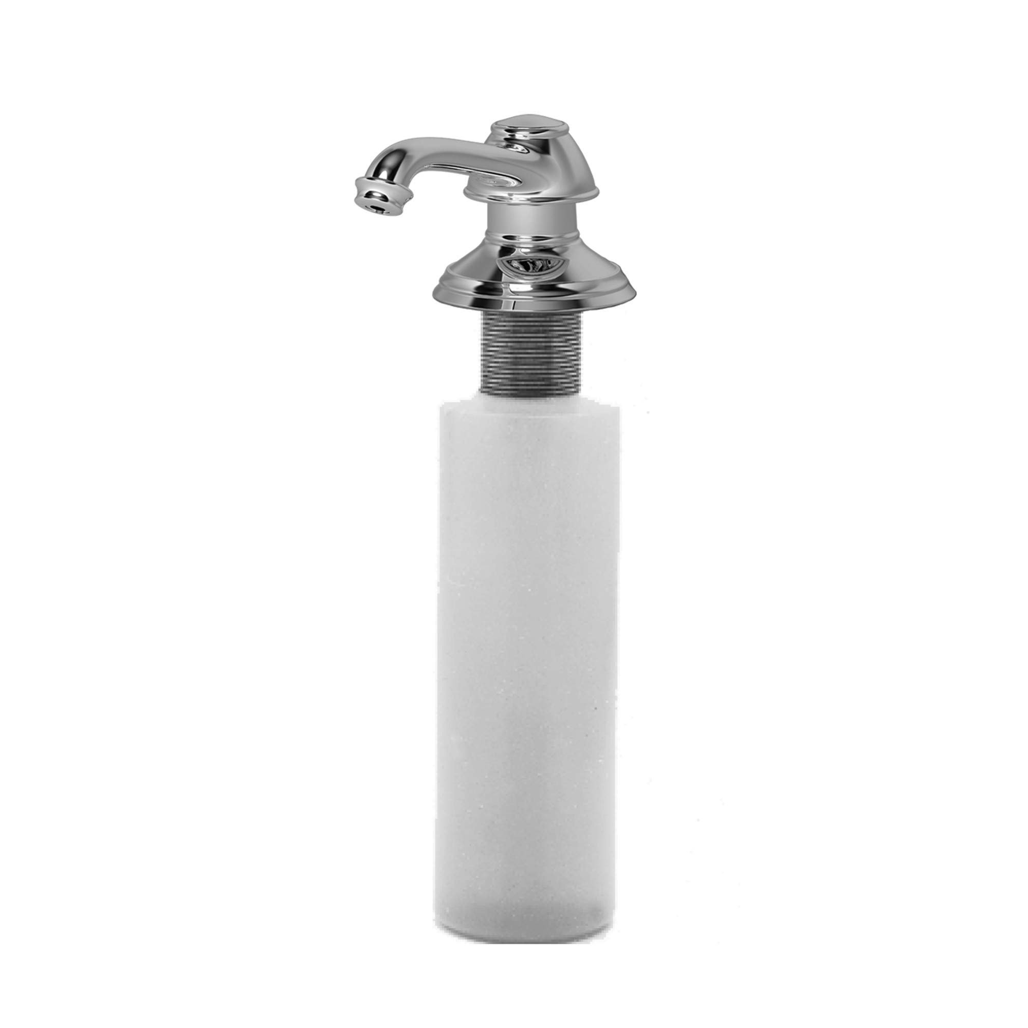 Newport Brass 2470-5721 Jacobean Deck Mounted Soap and Lotion Dispenser, Polished Chrome