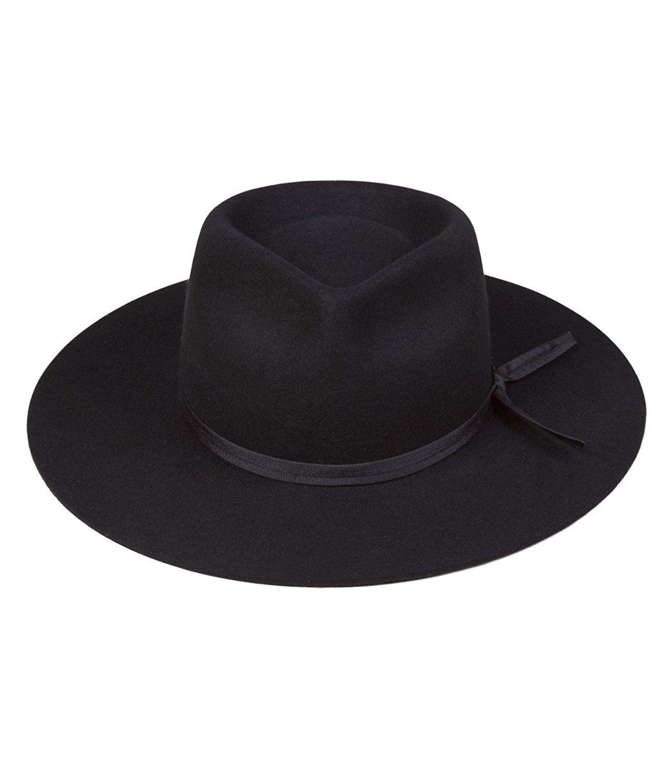 Lack of Color Unisex The Jethro Fedora (Black, SM (55cm)) by Lack of Color (Image #2)