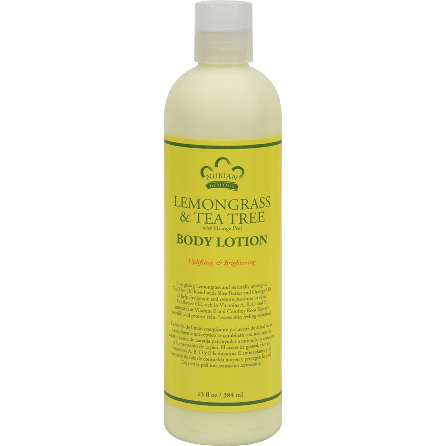 Amazon.com: Nubian Heritage Lotion - Lemongrass and Tea Tree - 13 oz (Pack of 4): Health & Personal Care
