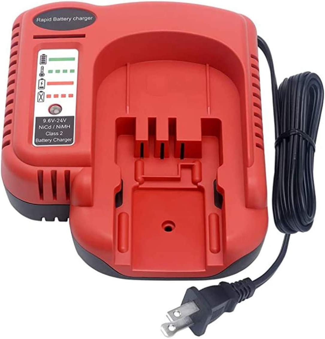 LALAFO Battery Charger Replace for Black and Decker 18V 14.4V 12V 9.6V 24V NiCad & NiMh Battery FS12B HPB12 A14F A14 HPB14 FSB18 HPB18 FS18FL HPB18-OPE A18 A18E HPB24 HPB96 A1714