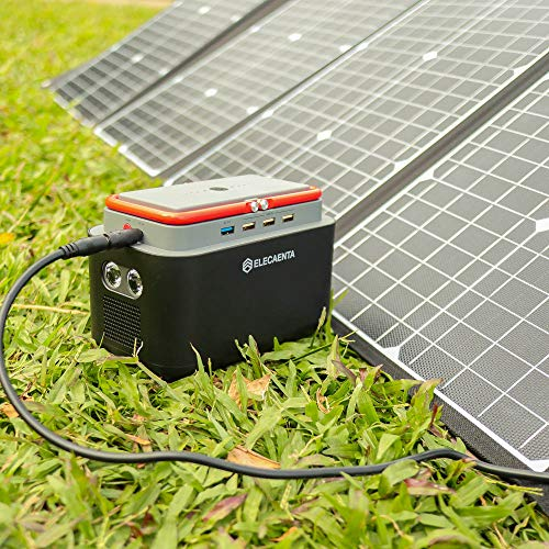 Portable Power Station 167Wh 45000mAh Lithium Battery Solar Generator with AC DC USB 9 Outputs for Camping Home CPAP Emergency Backup Power Supply