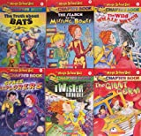 Magic School Bus Chapter Book Set 1-6 (The Truth About Bats / The Serach for the Missing Bones / The Wild Whale Watch / Space Explorers / Twister Trouble / The Giant Germ)