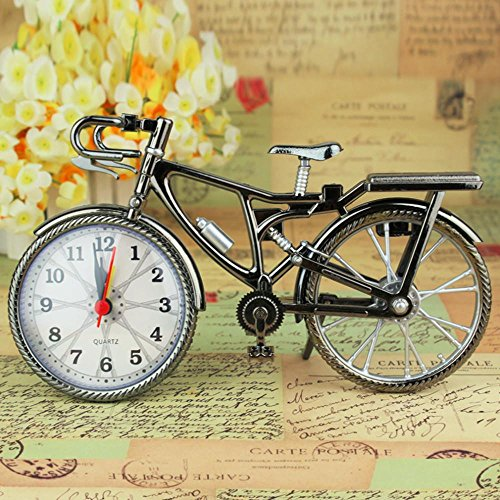 1Pcs Retro Iicycles Alarm Clock Cool Style Clock Fashion Personality NZ-035