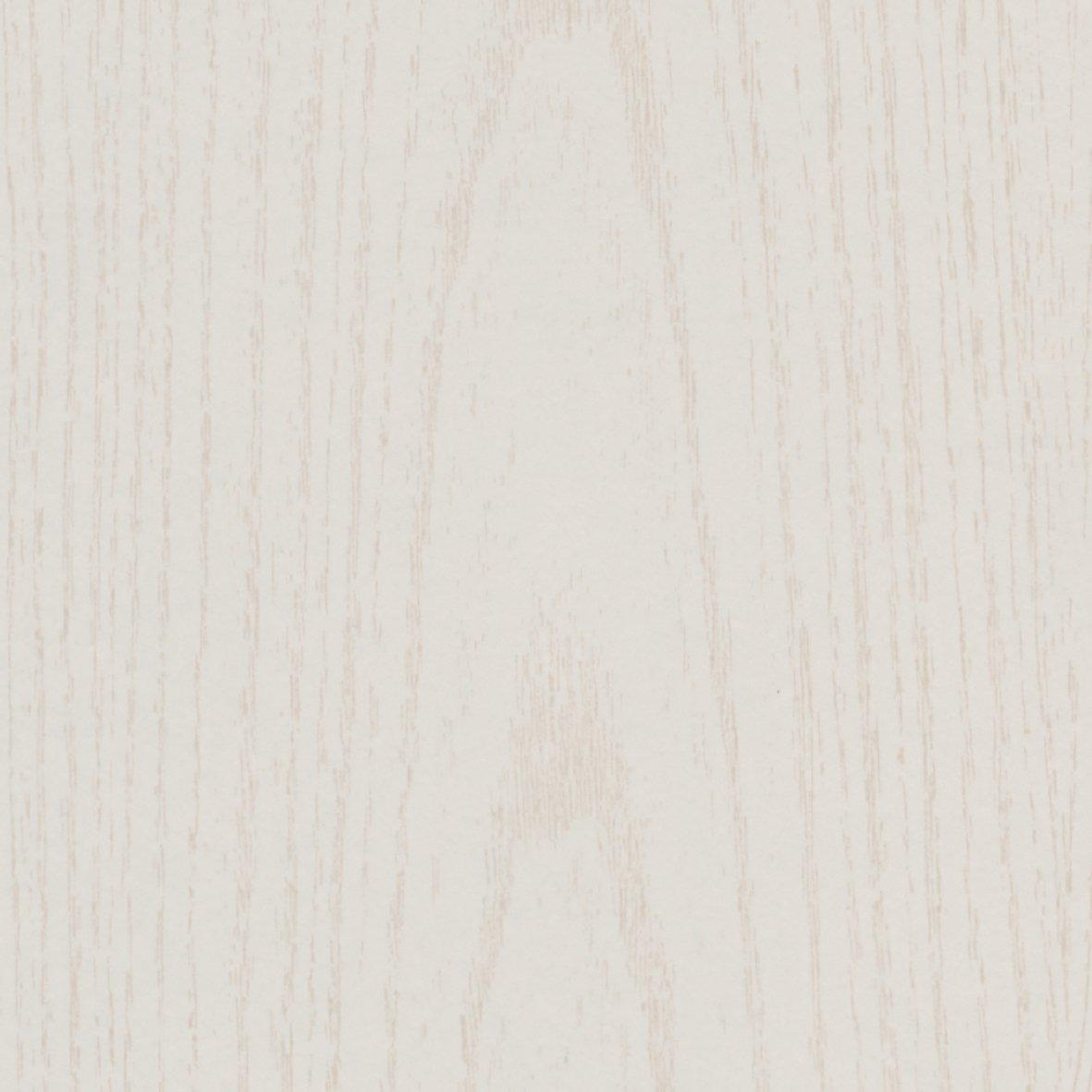 Viertelstab Abschlussleiste Abdeckleiste Fu/ßbodenleiste aus MDF in Struktur wei/ß 2600 x 12 x 12 mm