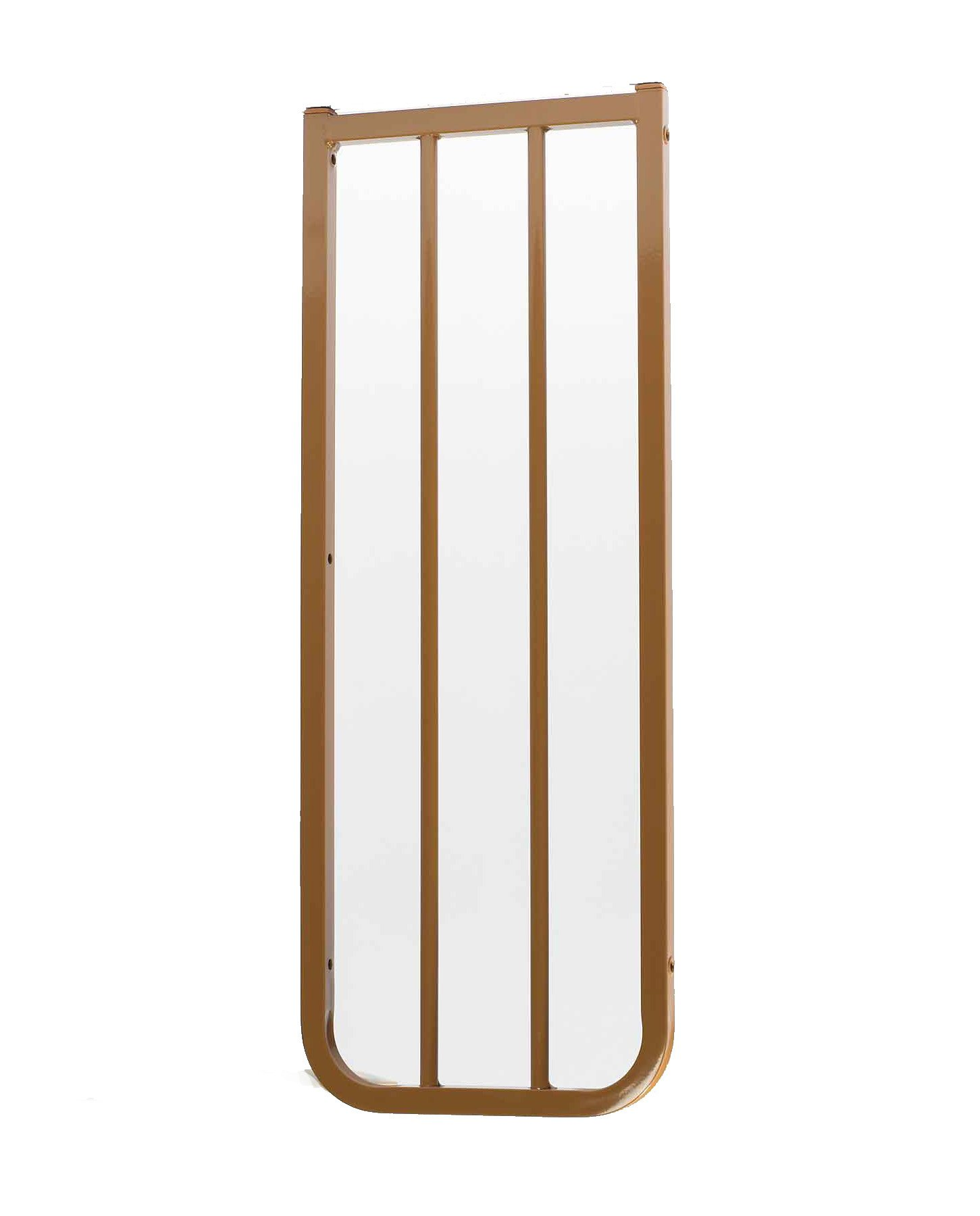 Cardinal Gates Extension for Outdoor Child Safety Gate, Brown, 10.5''