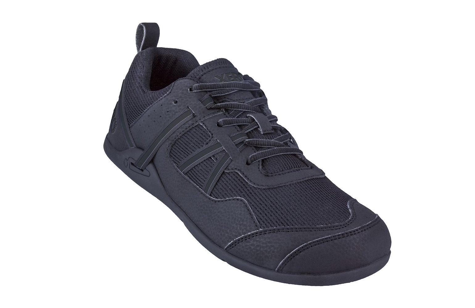 Xero Shoes Prio - Men's Minimalist Barefoot Trail and Road Running Shoe - Fitness, Athletic Zero Drop Sneaker - Black by Xero Shoes (Image #1)