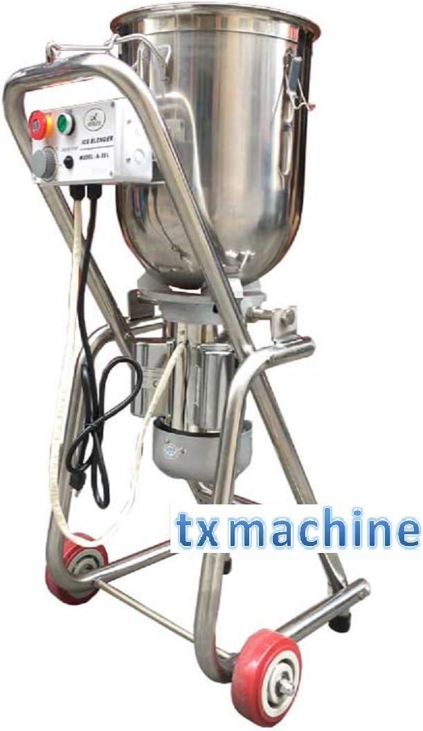 TX® Commercial Ice Blender 30L Multifunction Blend machine 1500W Food blender stainless steel Mashing machine for Fruit Vegetable ice (220V/50HZ)