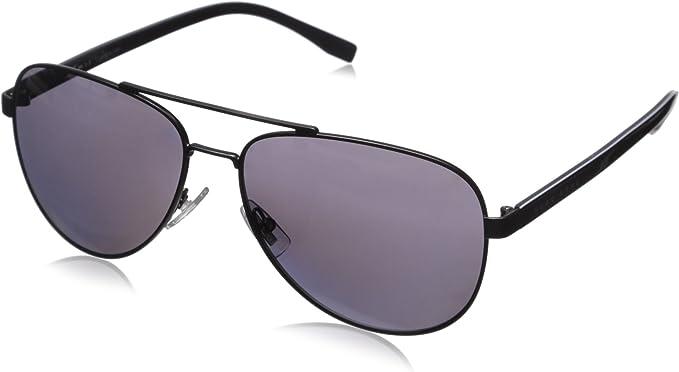 Hugo Boss Polarized Men/'s Slim Metal Classic Sunglasses HB0732S 0KCV