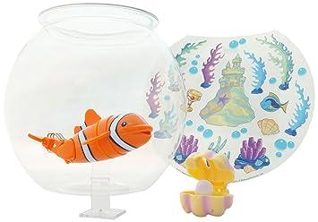 Lil Fishys Lucky en la pecera, con Accesorios