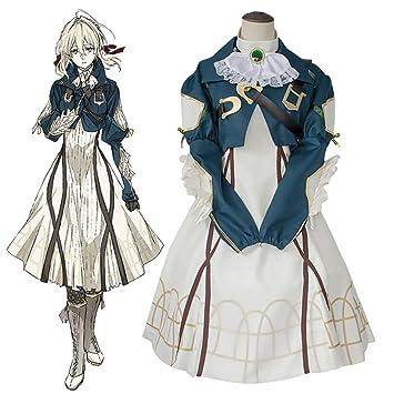 GGOODD Anime Violet Evergarden Halloween Cosplay Costume Mujer ...