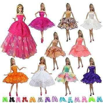 20 Mini Kleiderb/ügel F/ür Barbie Sindy Puppen Kleid Kleider Kleidung Bekleidung Prinzessin