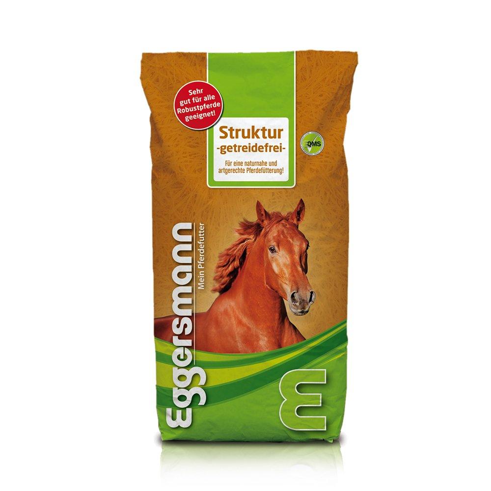 Mangeoire pour cheval avec stoffwec Help roblemen et sensible pour cheval, eggers Mann Cheval Doublure texturé sans céréales, 1er Pack (1x 15kg) Eggersmann 3251-300