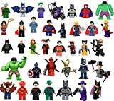 36 EDIBLE IMAGE LEGO SUPER HEROES CAKE & CUPCAKE TOPPERS