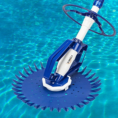 (VINGLI Pool Vacuum Cleaner Sweeper Automatic Swimming Pool Vacuum Suction In-Ground Head Cleaner)