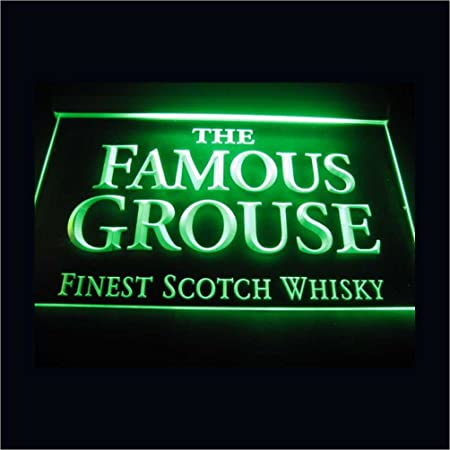 The Famous Grouse LED Caracteres Publicidad Neon Cartel ...