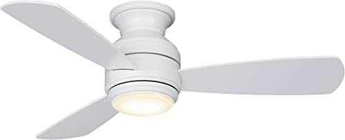 Fanimation Studio Collection LP8347BLMW Level Ceiling Fan