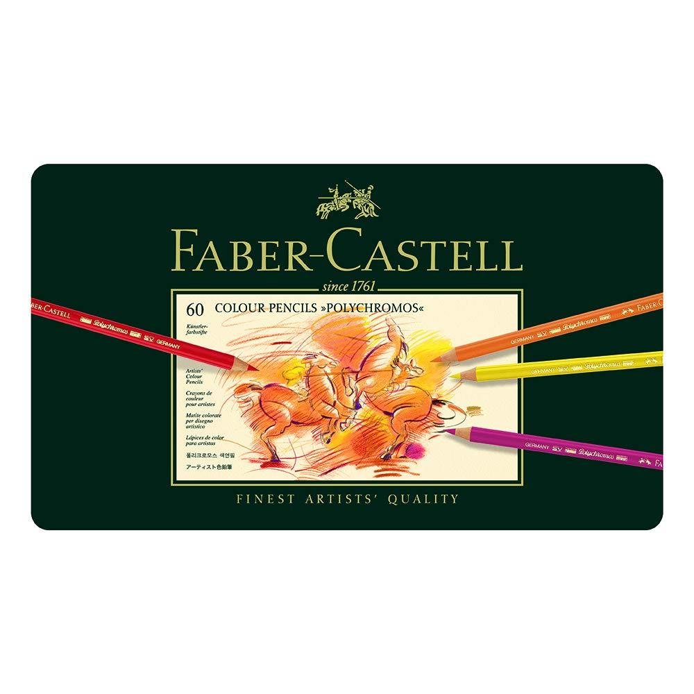 60 lapices de colores Faber Castel (xmp)