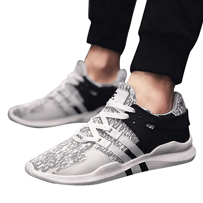 JiaMeng Zapatillas de Correr Hombre Color de Hechizo Casual Cómodas Calzado Deportivo Zapatos Casuales de Moda Zapatos cómodos Calzado Casual para Hombre ...