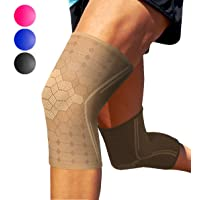 Sparthos Knee Compression Sleeves by (Pair) – Joint Protection and Support for Running...