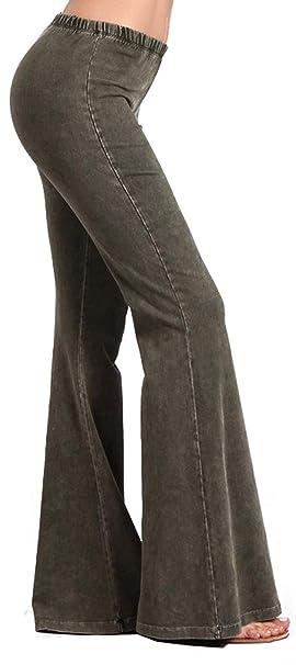 Amazon.com: Zoozie LA Pantalones acampanados de mujer ...