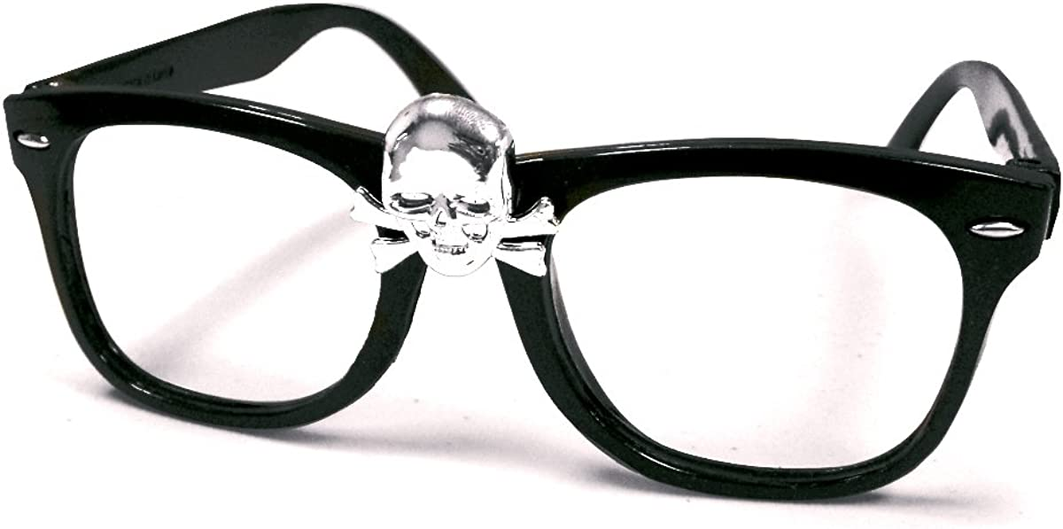 "Rick ""Wild Thing"" Vaughn Skull Glasses: Clothing"