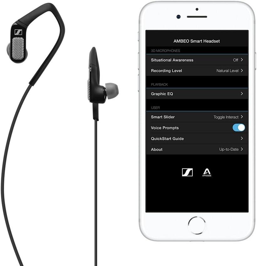 Sennheiser Apogee Ambeo Smart Headset Ios Für 3d Video Sound