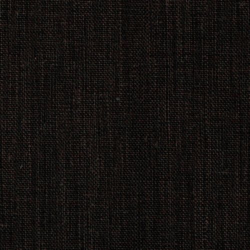 Quality Linen Medium Weight Linen Black Fabric By The Yard (Fabrics Linen 100)