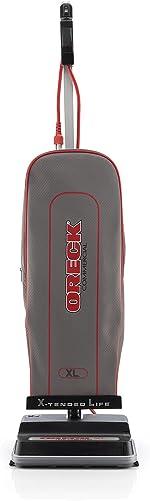 Oreck Commercial U2000RB2L-1 LEED-Compliant Upright Vacuum, Grays