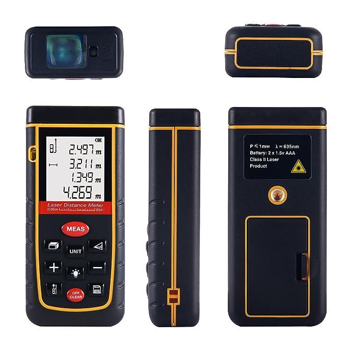 USB 30m Infrarot-Entfernungsmesser-Taschen-LCD-Digitalmessinstrument-Werkzeuge