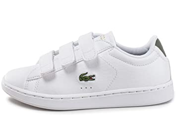 0aebe4a4fb Lacoste Carnaby Evo Enfant Croc Pack Blanc 33: Amazon.fr: Chaussures ...