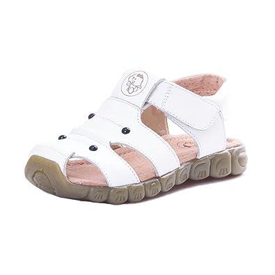 bdc2f9a27fd7ef Eagsouni Sandales Bout Fermé Mixte Enfant, Beach Sandales Filles Doux Mode Chaussure  Garçons Sandales en