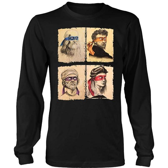 Amazon.com: Teelaunch Funny Italian Renaissance Ninja ...