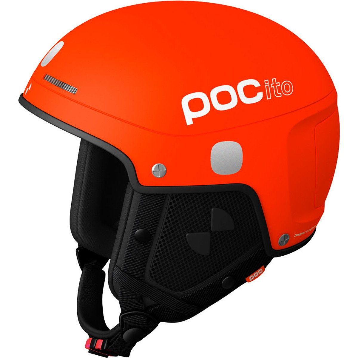 POC - POCito Skull Light, Fluorescent Orange, XS/S