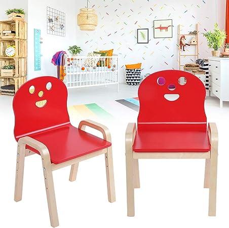 Enfants chaise-Blanc ou nature laisser-très stable-directement du fabricant