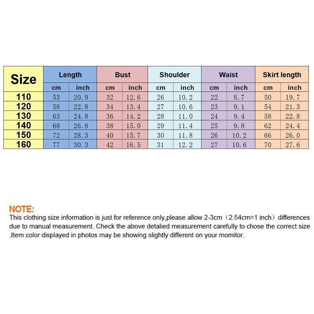Colore : C1, Dimensione : 110 Zhongsufei-BC Top a Manica Corta da Uomo a Maniche Corte con Maniche Corte a Manica Corta Sportiva con Pantaloni Neri a Zampa delefante per Ragazze di 7-14 Anni