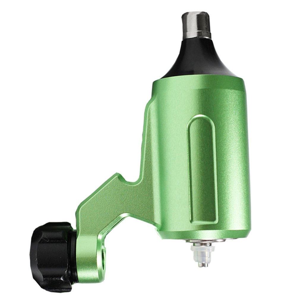 D Dolity Motor de Máquina de Tatuaje Shader de Línea Silencioso Profesional - Verde
