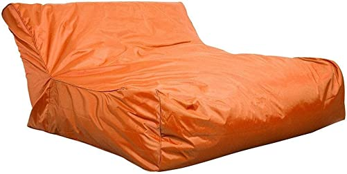 Estink Pool Float Bean Bag Chair,Outdoor Waterproof Pool Lounger Relaxing Soft Sofa for Pool Reading Realaxing Orange