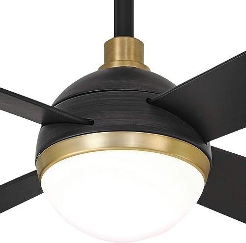 Minka-Aire F623L-BC/SBR Orb 54 Inch Ceiling Fan