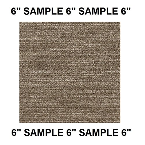 BASIS - Dog Assist Carpet Stair Treads - Premium 40 Oz. Tufted Pinpoint Saxony NYLON by Milliken - ((f) TWEED - Sample Swatch) (Swatches Tweed)