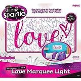 Shimmer 'n Sparkle Marquee Light - Love Kids Wall Decor Bedroom Childrens Girls Room Birthday Gift