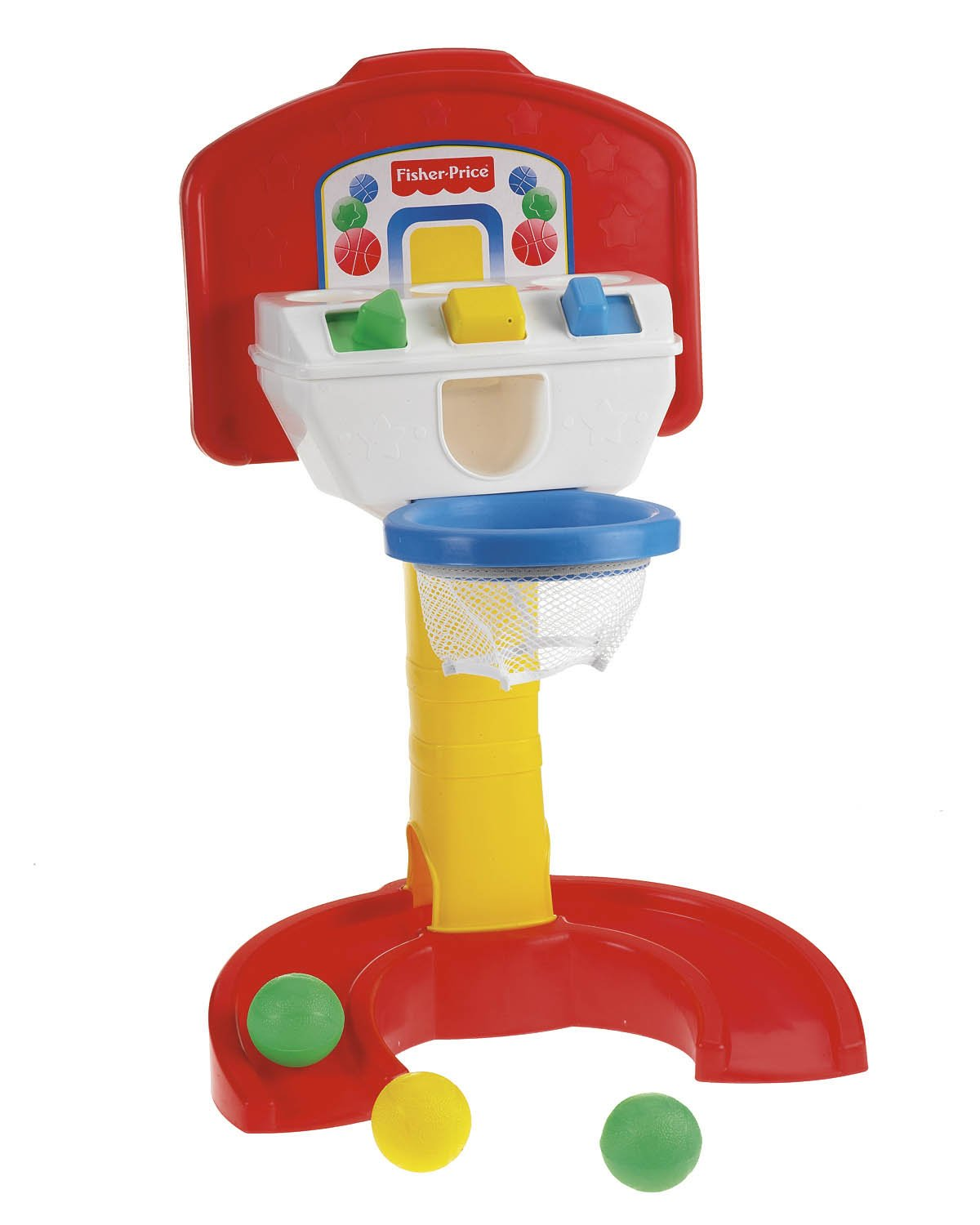 Amazon.com: Fisher-Price Bright Beginnings Baby Basketball: Toys & Games