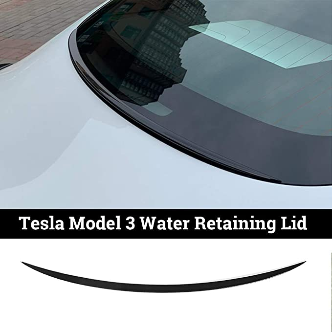 BASENOR Tesla Model 3 Tapis de Coffre arri/ère 3D