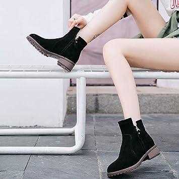 012257080fa7 Shoes Vintage Martin Stiefel, Weiblicher Britischer Wind, Schülerin  Scheuert Ankle Boots, Damen Herbst