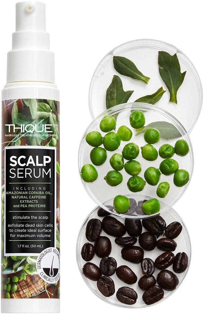 THIQUE Scalp Serum Hair Loss Treatment for Women - Paraben Free 1.7oz