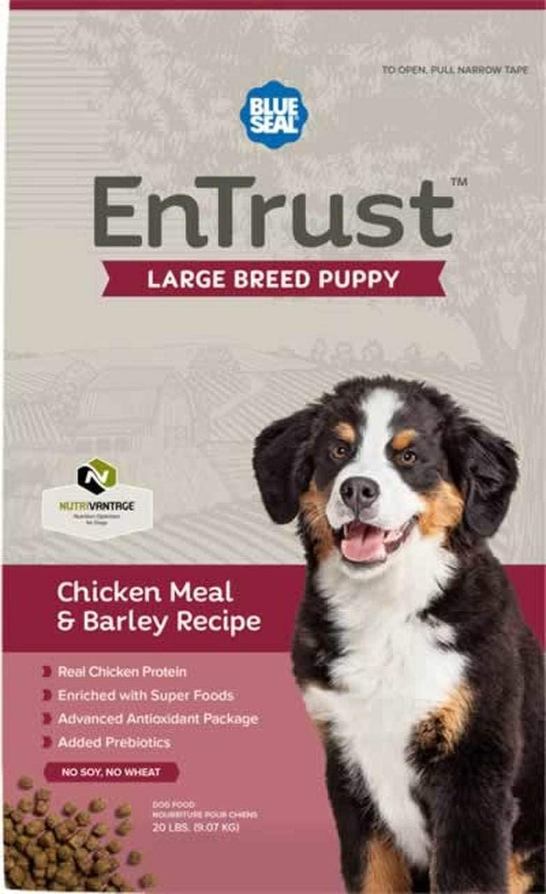 Blue Seal EnTrust Large Breed Puppy Chicken Meal Barley
