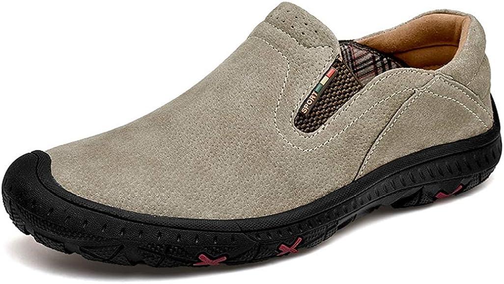 [Dong] ハイキングシューズ メンズ 防水 防滑 ローカット 通気性 軽量 デザートブーツ 大きいサイズ 登山靴 衝撃吸収 キャンプ シューズ ライトトレッキングシューズ トレッキング アウトドア 登山道 ウォーキング 雪靴 遠足靴