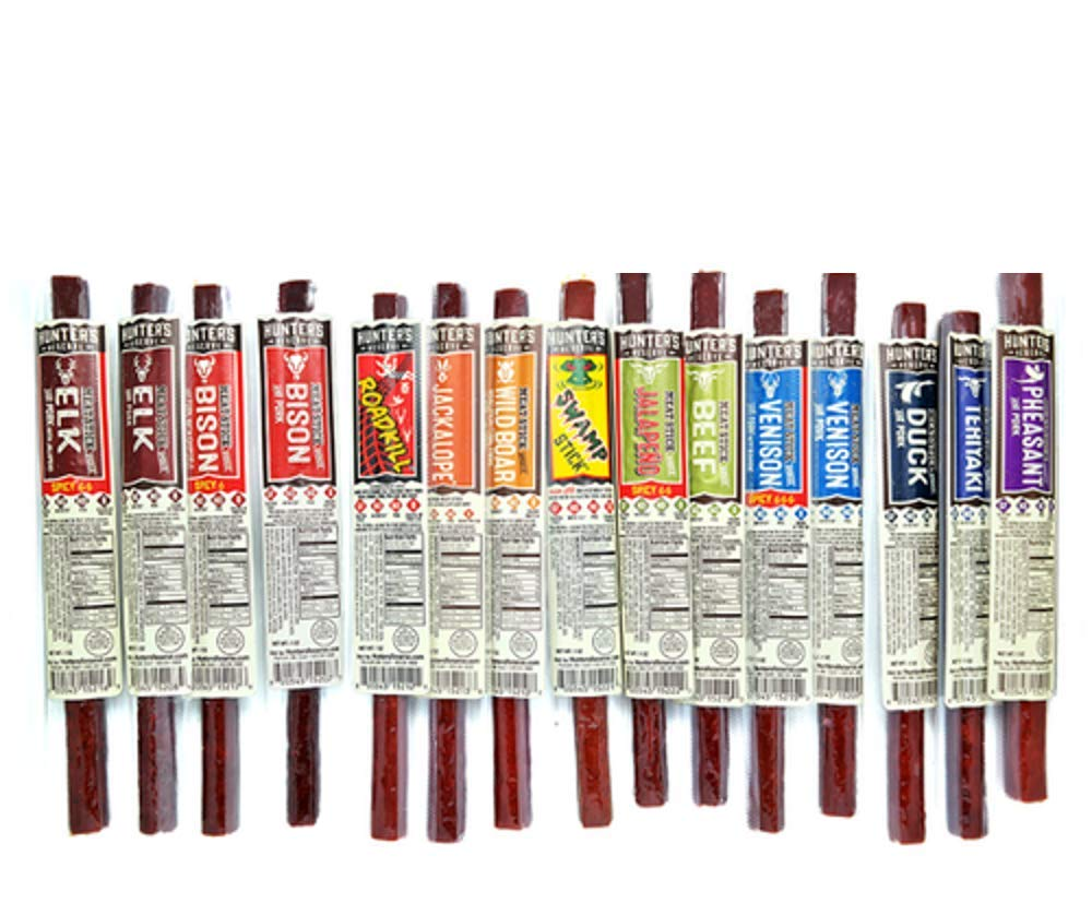 ALL Natural Artisan Crafted Game Meat Stick 17 Piece Assortment
